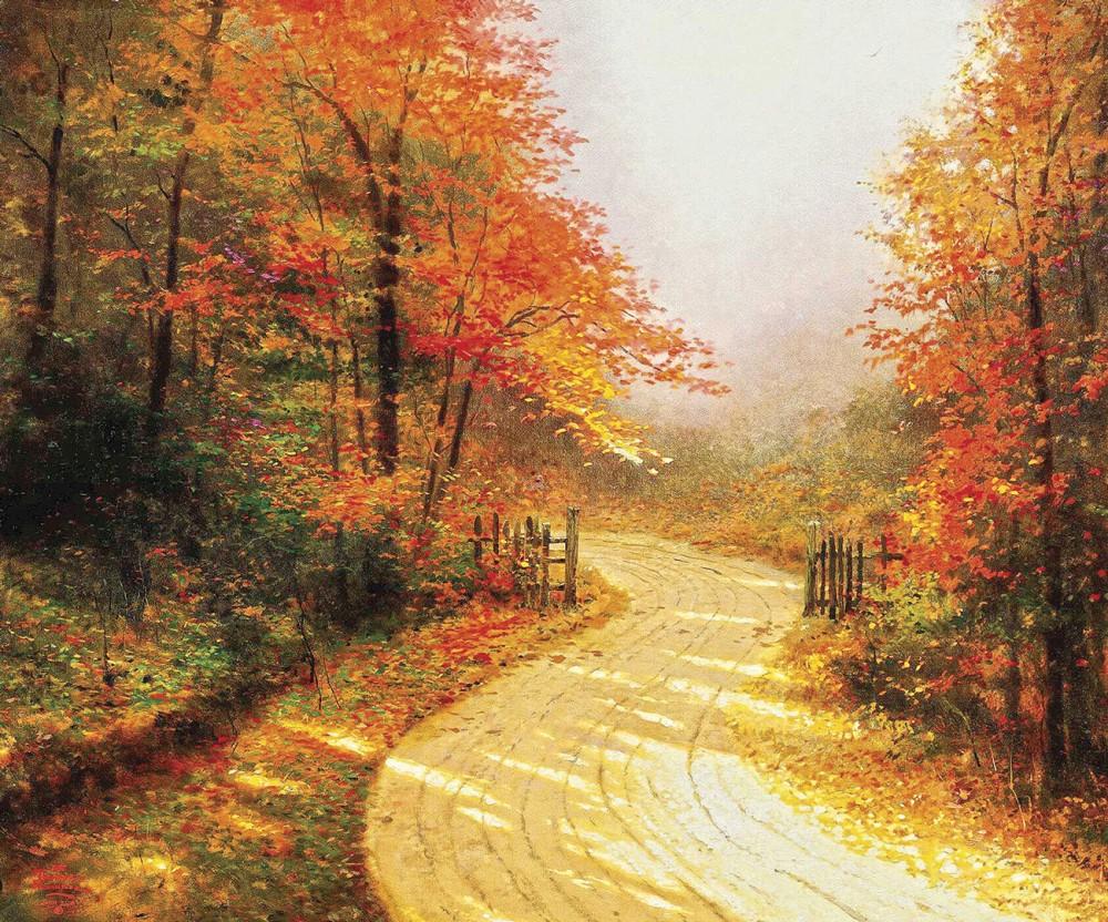 Картинки надписями, открытки пейзажи с осенью