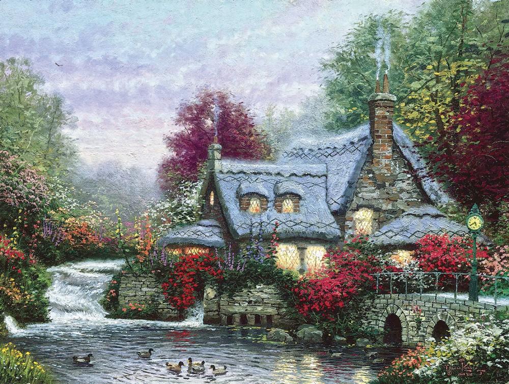 Картинки томас кинкейд картины, званием теща картинки