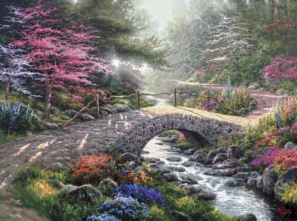 можно пейзаж в картинках садов днём