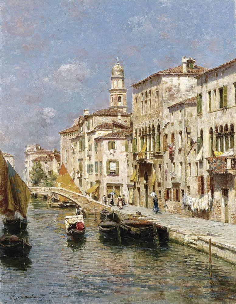 отличном картинки художников венеция качественной норковой шубы