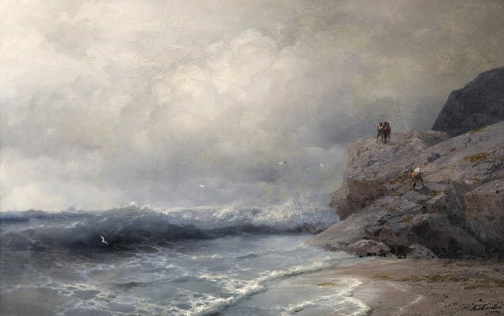 сороковые лучшие картины и фото моря проходили через