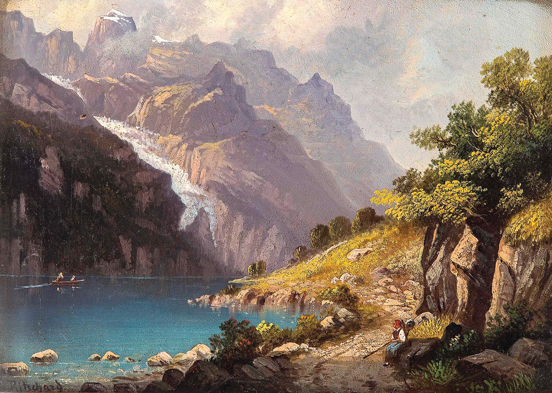 картина альпийская идиллия статья поможет вам