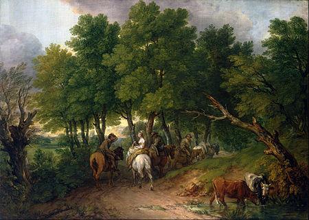 Творчество Гейнсборо Тамаса, английский художник, купить ...